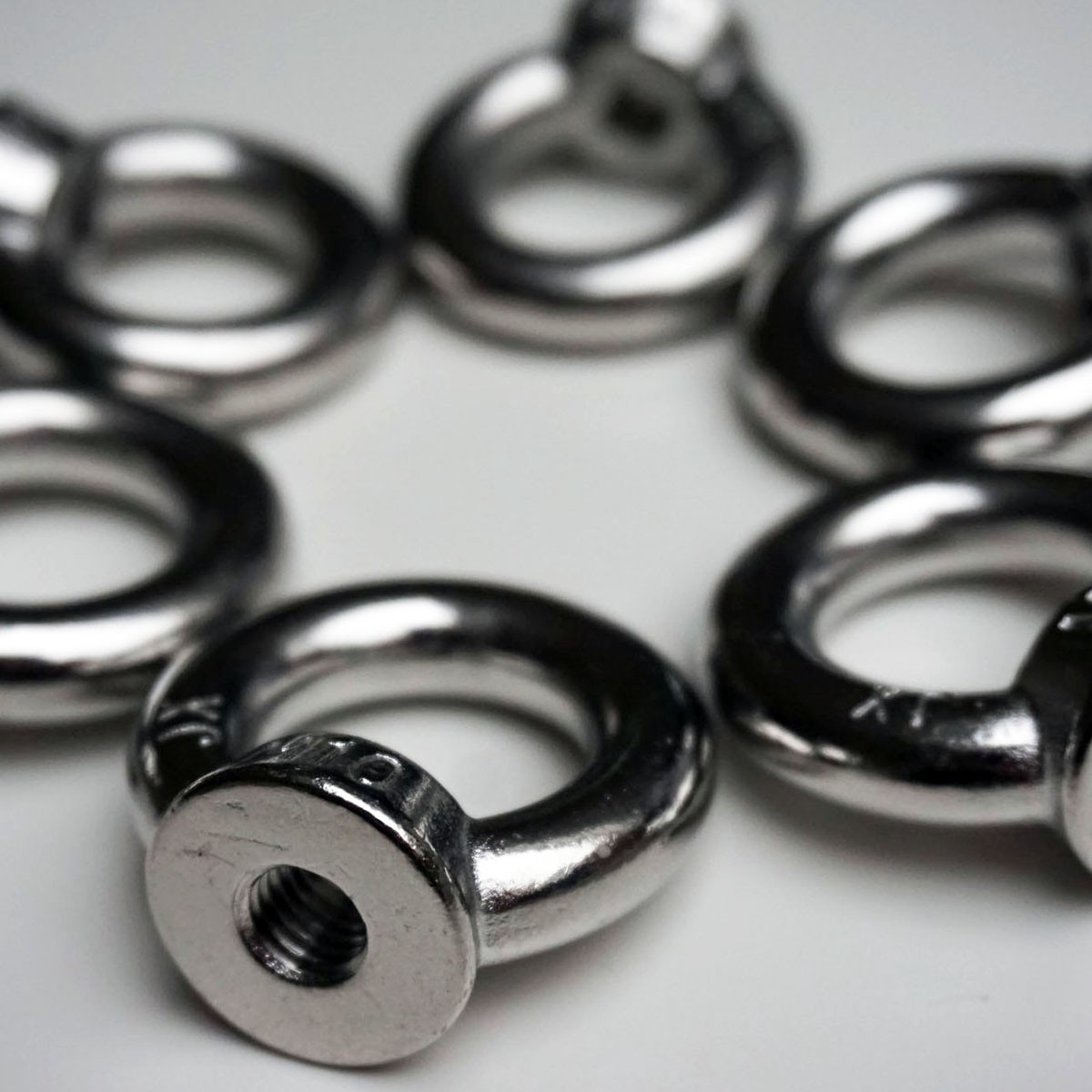 ringmutter din 582 a2 edelstahl v2a ring se mutter m6 m8 m10 m12. Black Bedroom Furniture Sets. Home Design Ideas